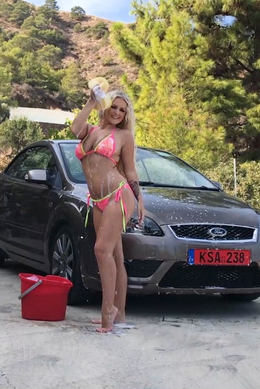 Car Wash BTS